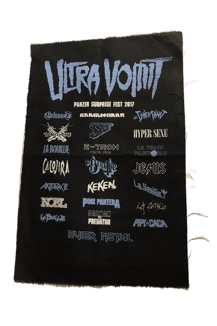 Backpatch ultra vomit panzerfest